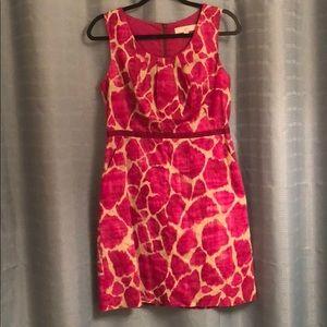 Ann Taylor loft pink dress